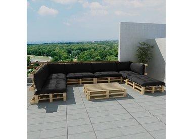 21 delige lounge set