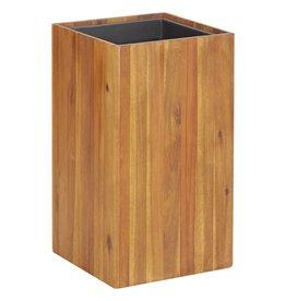 vidaXL Plantenbak 33,5x33,5x60 cm massief acaciahout