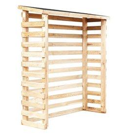 vidaXL Houtschuur 160x50x170 cm grenenhout