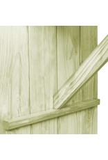 vidaXL 7-delige Tuinset geïmpregneerd grenenhout