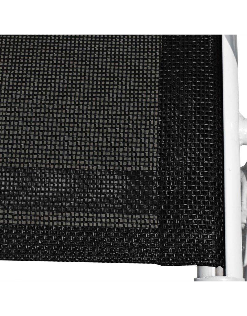 vidaXL 13-delige Tuinset zwart