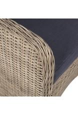 vidaXL 7-delige Tuinset poly rattan bruin