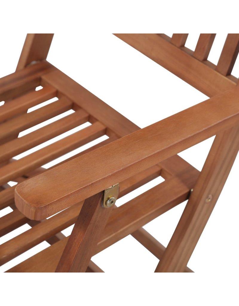 vidaXL 13-delige Tuinset massief acaciahout