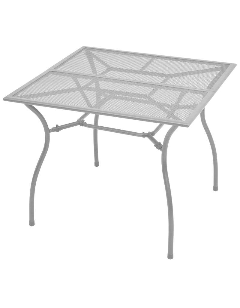 vidaXL 5-delige Tuinset staal antraciet