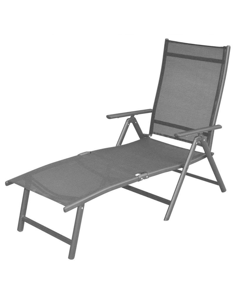 vidaXL 12-delige Tuinset aluminium zwart