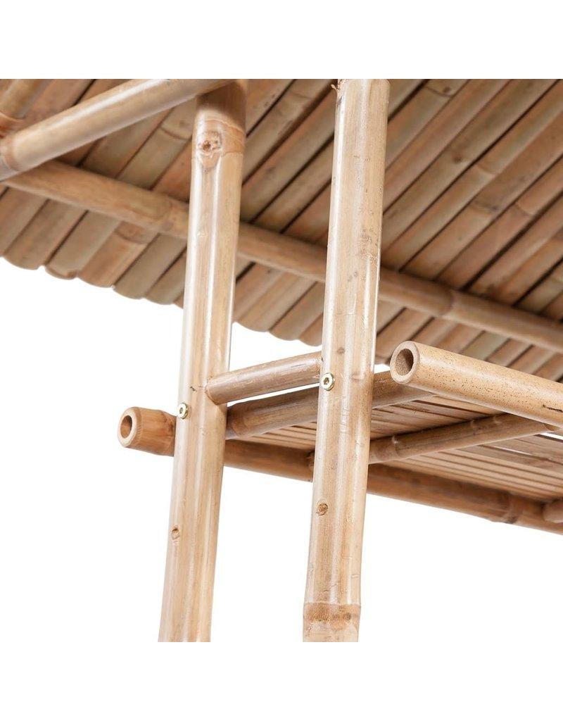 vidaXL 3-delige Bistroset bamboe
