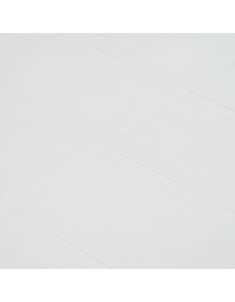 vidaXL 5-delige Tuinset rattan-look kunststof wit