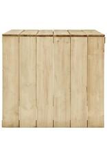 vidaXL 5-delige Tuinset geïmpregneerd grenenhout