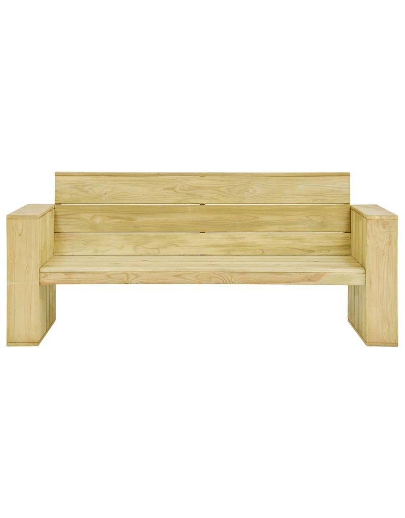 vidaXL 5-delige Loungeset geïmpregneerd grenenhout