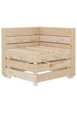 vidaXL 8-delige Loungeset pallet hout