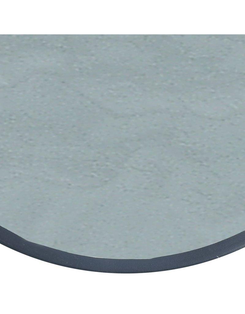 vidaXL 3-delige Bistroset staal zwart