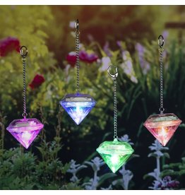 HI Solarlampen diamantvormig 4 st