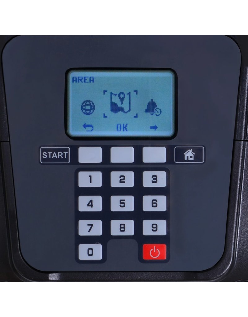 vidaXL 146232  Robotmaaier 1000 m² met LCD 4,4 Ah 24 V accu