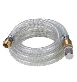 Pompslang 4 m met messing connectoren 4173630
