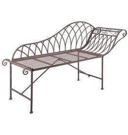 Chaise longue oud-Engelse stijl metaal MF016