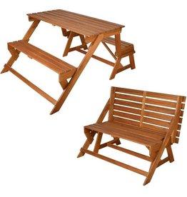 converteerbare bank/picknicktafel BL059
