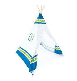 kids' Tipi tent blauw 411895