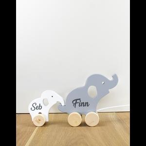 BamBam Wooden Elephant Giftbox