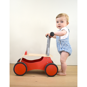 Hape Little Red Rider loopkarretje