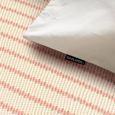 Snurk Breton pink dekbedovertrek