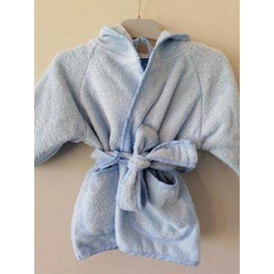 lichtblauw badjasje