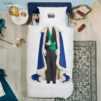 Snurk King of Queen Dekbedovertrek NIEUW
