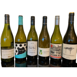 Proefpakket 6 witte wijnen