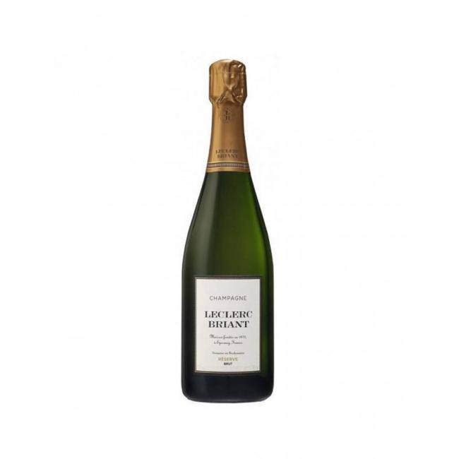 Champagne Leclerc Briant Brut – Réserve (Vegan wine) - Reims - Frankrijk