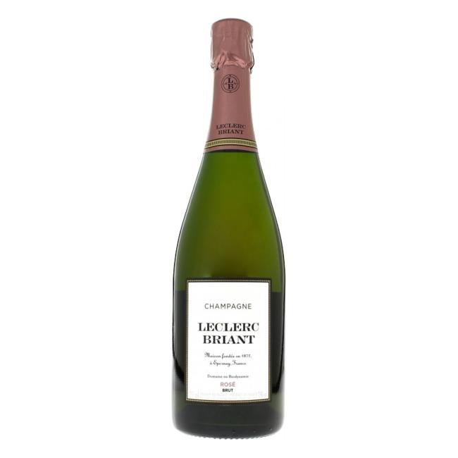 Champagne Leclerc Briant Rosé Organic Rosé Brut (Vegan wine) - Reims - Frankrijk