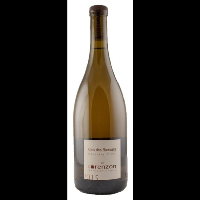 Mercury 1er cru 'Clos des Barraults'   Domaine Bruno Lorenzon - 2018 - Bourgogne - Frankrijk