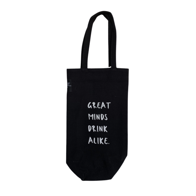 Bottle Bag - Great Minds Drink Alike