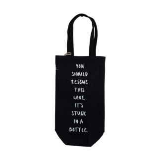 Bottle Bag - Wine Stuck In A Bottle