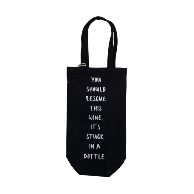 Bottle Bag - You should rescue this wine, it's stuck in a bottle