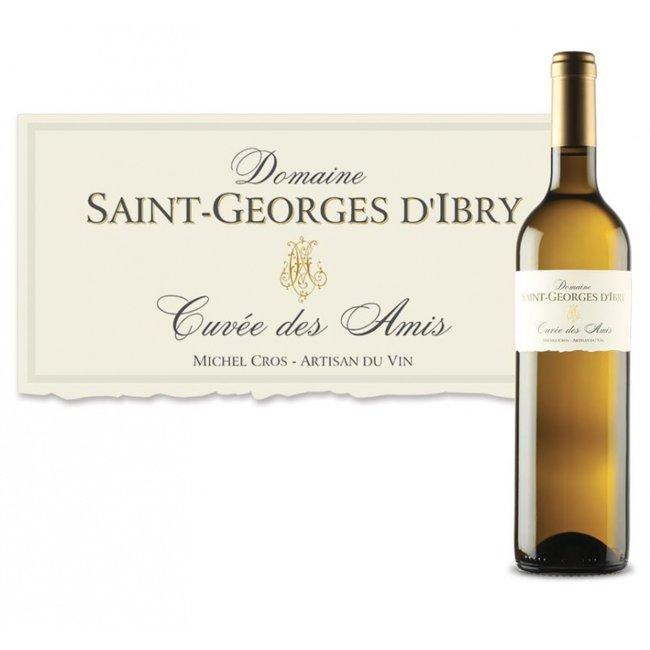 Cuvée des Amis Blanc Saint-Georges d'Ibry 2020 - Sauvignon/Viognier - IGP Côtes de Thongue - Languedoc - Frankrijk