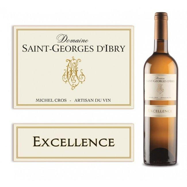 Excellence blanc 2019 Saint-Georges d'Ibry - IGP Côtes de Thongue - Languedoc - Frankrijk