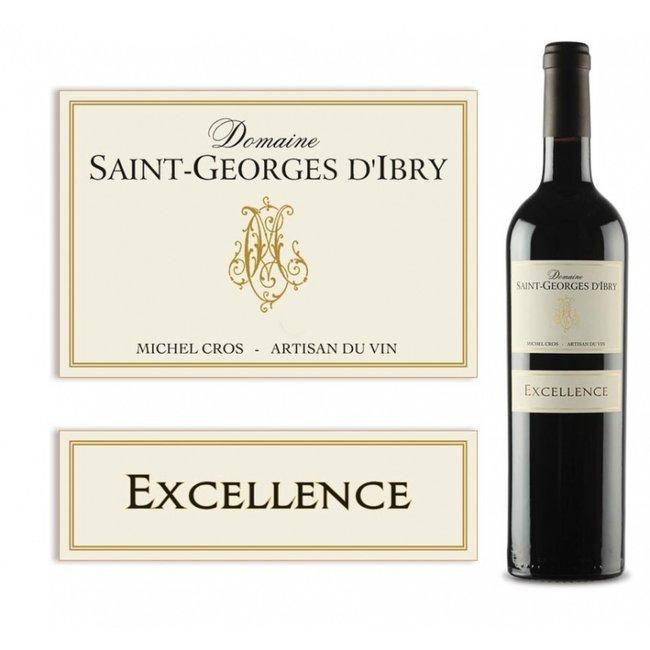 2019 - Excellence rouge - Saint-Georges d'Ibry - IGP Côtes de Thongue - Languedoc - Frankrijk