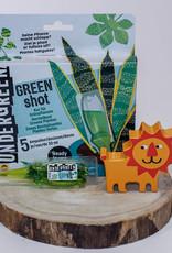 Undergreen green shot