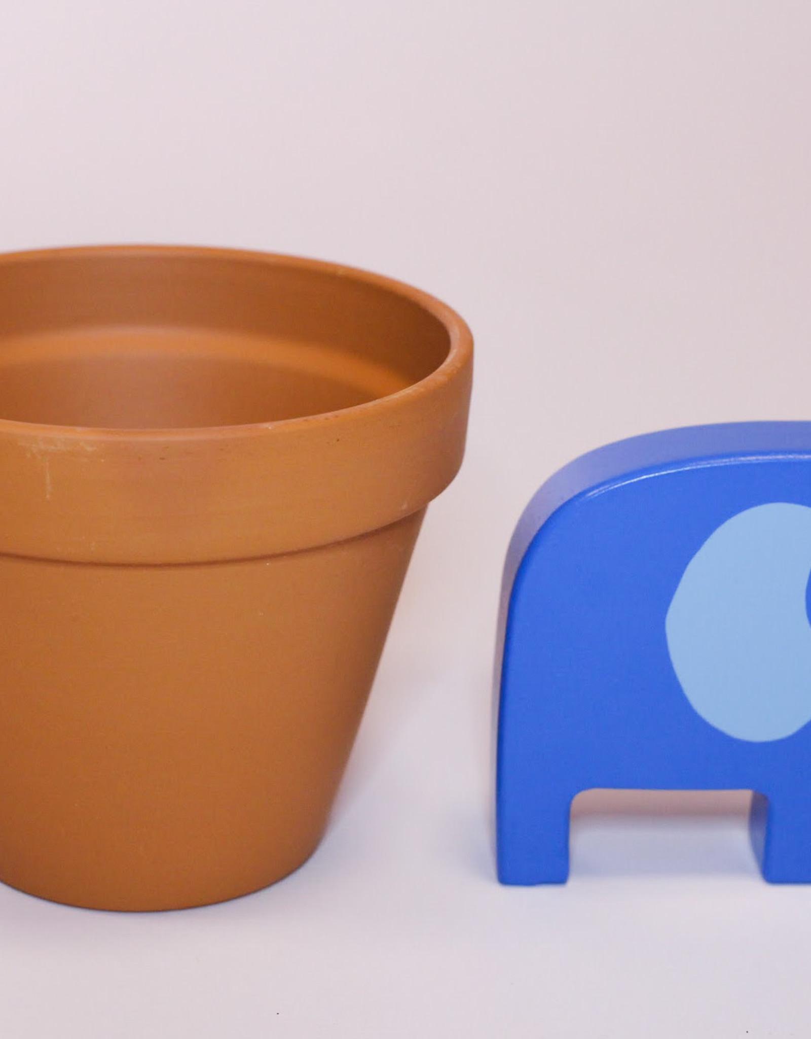 Terracotta pot D11.3