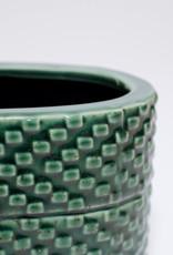 Aztec groen 7,5x16,5 (ovaal)