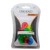 Legend 12 pcs Neon ball markers