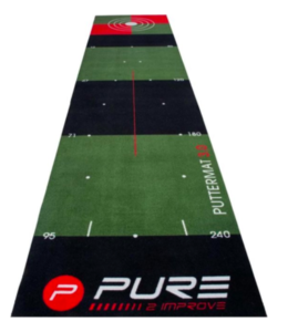 Pure2Improve PUTTING MAT 0.65 m x 3 m