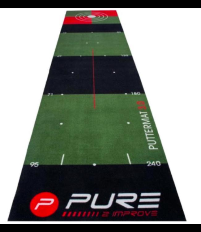 Pure2Improve PUTTING MAT 0.65 m x 3 m