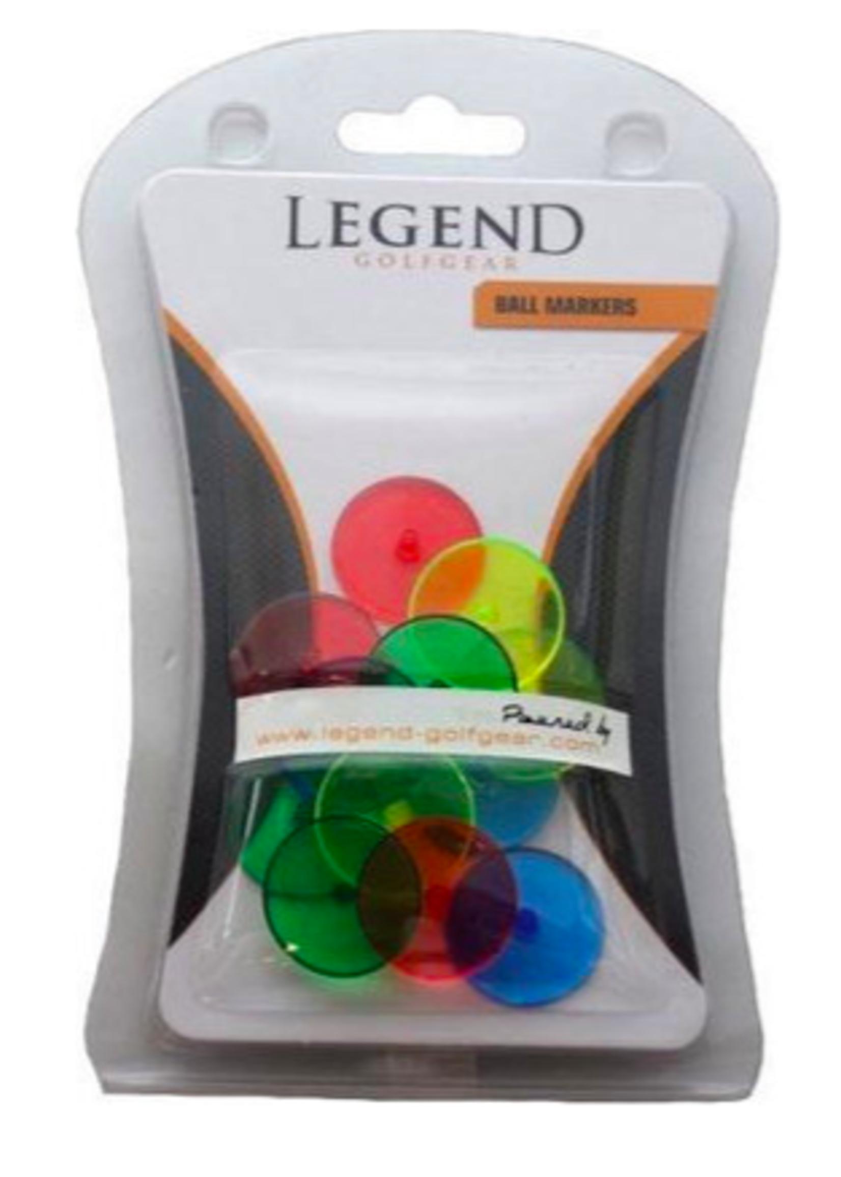 Legend 12 pcs Neon ball markers