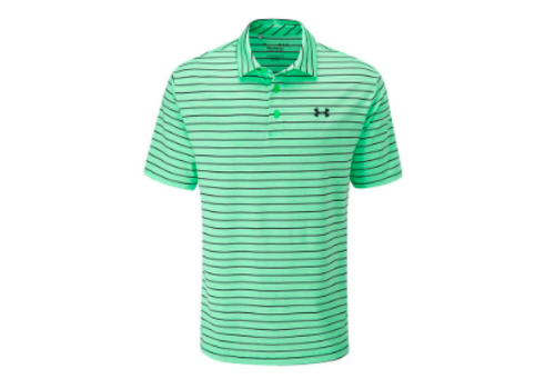 Under Armour UA Playoff Polo 2.0 - Vapor Green / Black / Pitch Gray