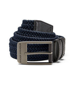 Under Armour UA BRAIDED BELT 2.0 ACADEMY/CHARCOAL