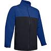Under Armour UA Elements Rain Jacket-Royal / Black / Black