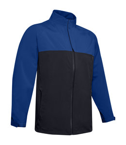 Under Armour UA Elements Rain Jacket-Royal / Black / Black