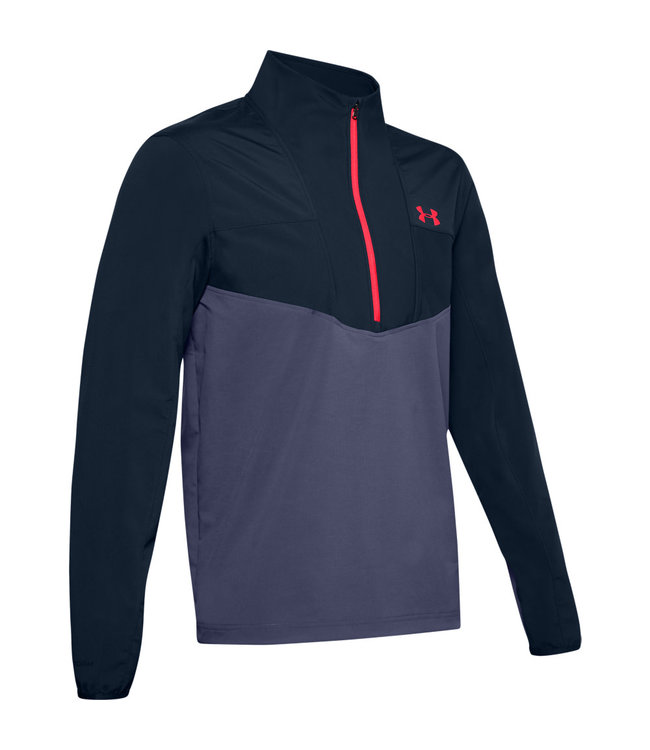 Under Armour UA Storm Windstrike 1/2 Zip-Academy / Blue Ink / Beta