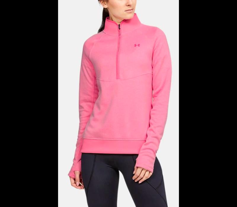 UA Storm Sweaterfleece 1/2 Zip-Lipstick / / Bubble Gum
