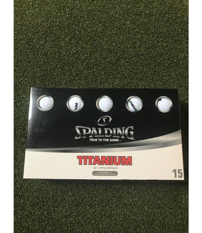 Spalding SPALDING TITANIUM 15 PK WHITE